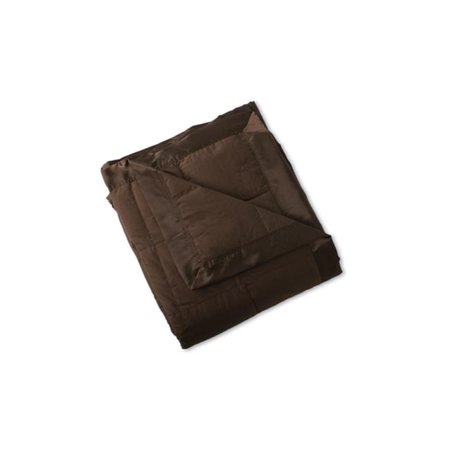 Sunflower DBC-70T Chocolate Down Blanket - Twin, 70 x 96 in.