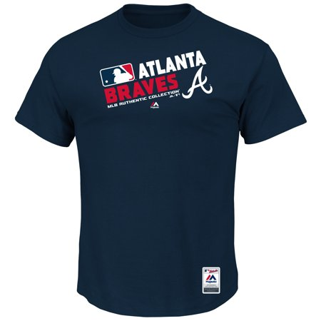 Atlanta Braves Majestic Team Choice T-Shirt - - Braves Atlanta