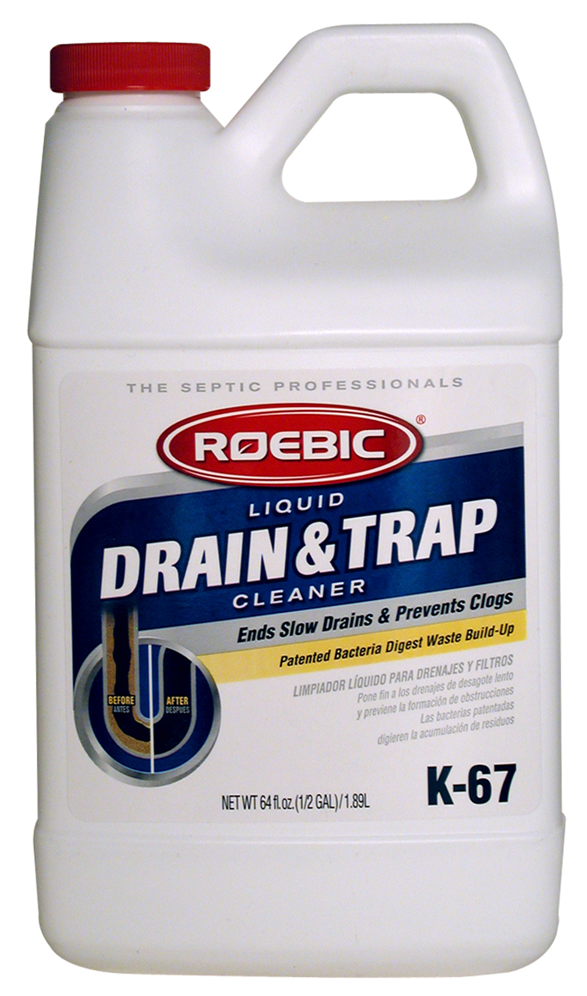 Roebic K 67 Bacterial Drain And Trap Cleaner Reviews