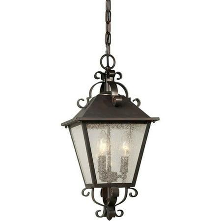Forte Lighting 3 Light Outdoor Hanging Pendant