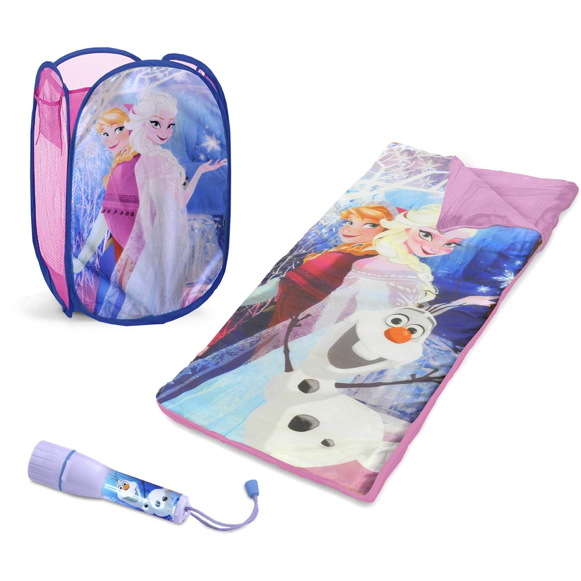 Disney congelado Set de pijamada con cesto de BONO + Disney en Veo y Compro