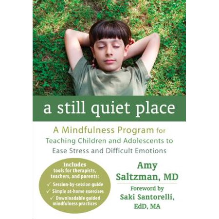 A Still Quiet Place : A Mindfulness Program for Teaching Children and Adolescents to Ease Stress and Difficult
