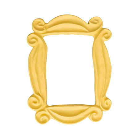 Friends Peephole Yellow Picture Frame