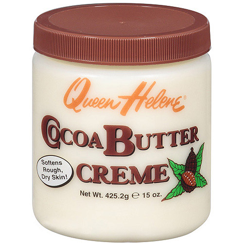 Queen Helene Cocoa Butter Face + Body Crème, 15 oz