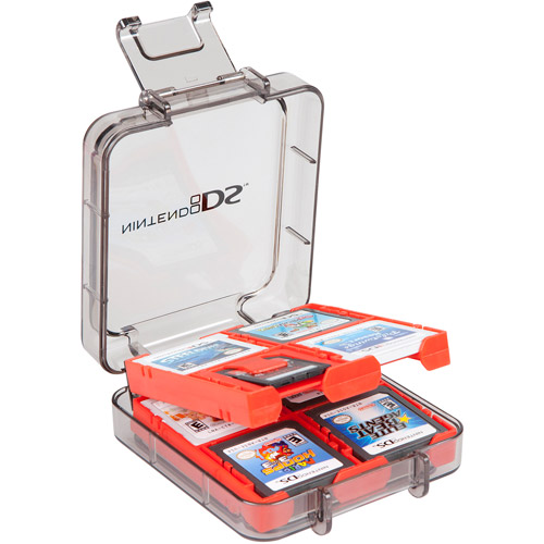 Power A Ds 16-game Clear Case - Red (ds,