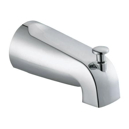 Design House 522912 Slip-on Tub Pull-up 5-Inch Diverter Spout, Polished Chrome ()