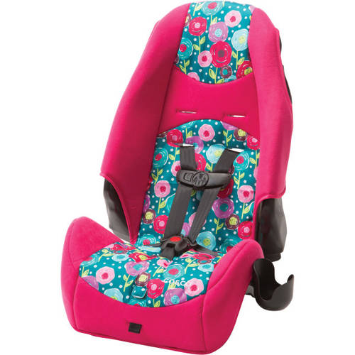Cosco 2-in-1 Highback Booster Car Seat, Spring Day