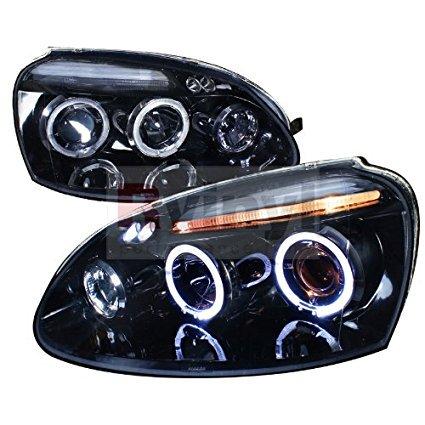 - Spec-D Tuning Volkswagen Golf 2006 2007 2008 Projector Headlights - Black