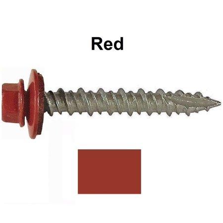 Metal ROOFING SCREWS: (1000) 10 x 1