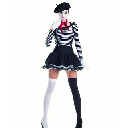 Mesmerizing Mime Costume for $<!---->