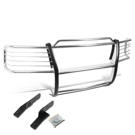 For 2000 to 2006 Tahoe / Suburban 1500 Front Bumper Protector Brush Grille Guard (Chrome) 01 02 03 04 05 ()