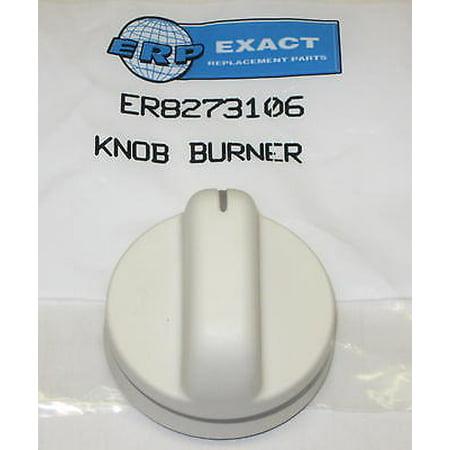 WP8273106 for Whirlpool Gas Range Power Burner Knob AP6012365 PS11745572