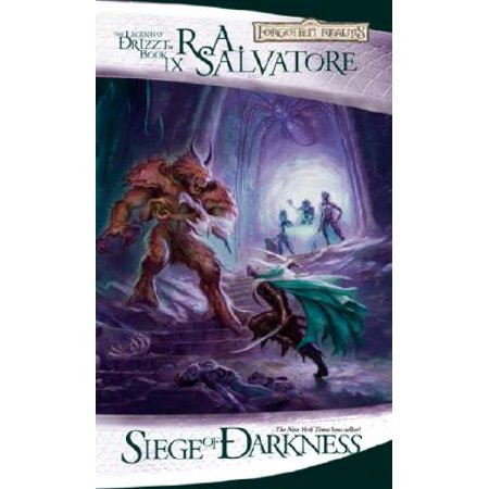 Siege of Darkness : The Legend of Drizzt, Book IX