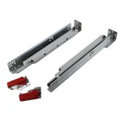 Contempo Living Inc Framed Hydraulic 21.37-inch Soft Close Concealed Undermount Full Extension Drawer Slides (1 Pair)