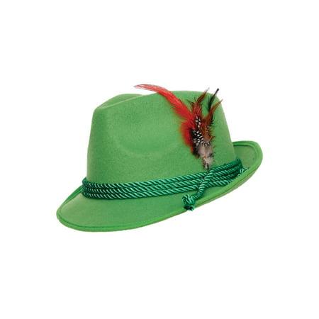 Green Swiss Hat Adult Halloween Accessory](Swiss Costume Ideas)