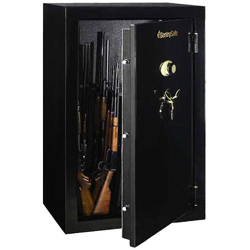 SentrySafe Fire Resistant 36-Gun Safe with Combination Lock
