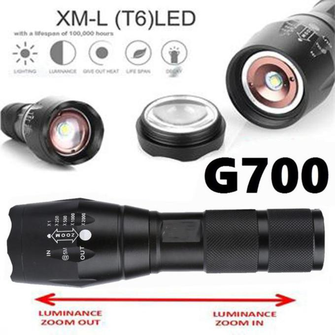 DZT1968G700 Tactical Flashlight LED Military Lumitact