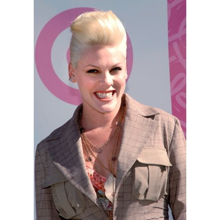Pink At The Press Conference For Target Random Acts Of Kindness Breast Cancer Awareness Month Manhattan New York Ny September 30 2005 Photo By Brad BarketEverett Collection Celebrity
