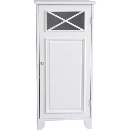 Prairie Floor Cabinet with Door, White