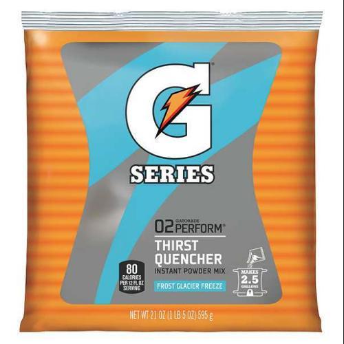 GATORADE 33677 Sports Drink Mix, Glacier Freeze