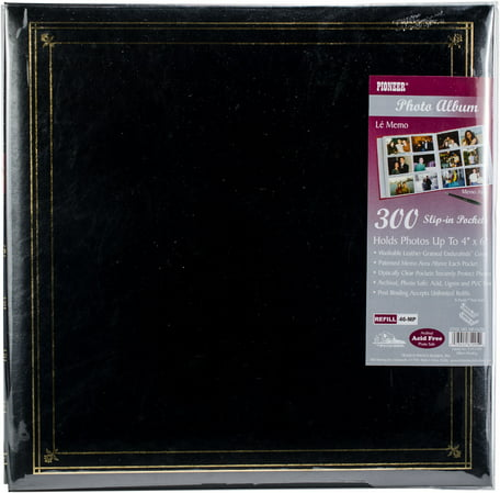 Pioneer Memo Pocket Photo Album 14x14 Black Walmartcom