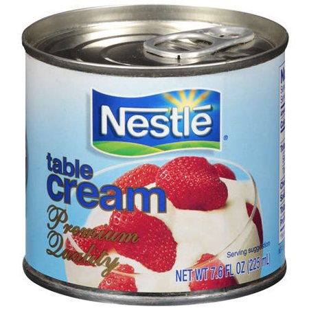 Nestle for the table cream for 10 table cream