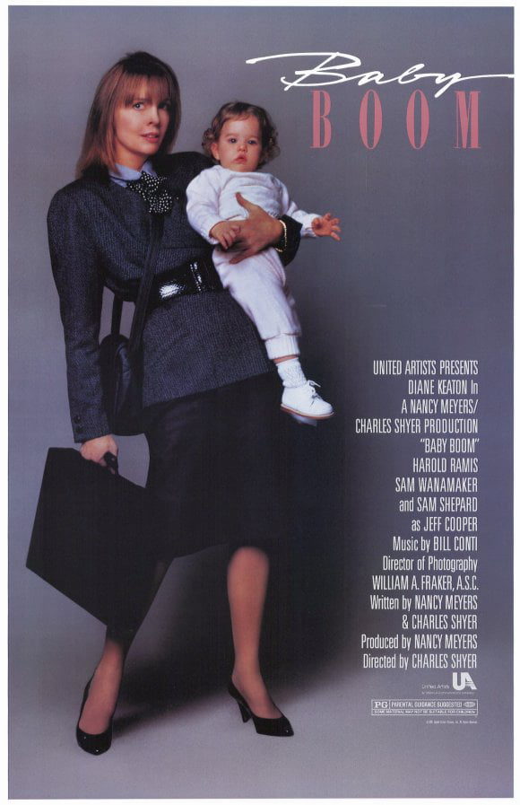 Baby Boom (1987) 11x17 Movie Poster by Pop Culture Graphics