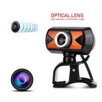 Fugacal 360 Degree Rotation USB2.0 Webcam 16M Pixel HD Web Camera With External Digital Microphone,Webcam, 16M Pixel HD Web Camera