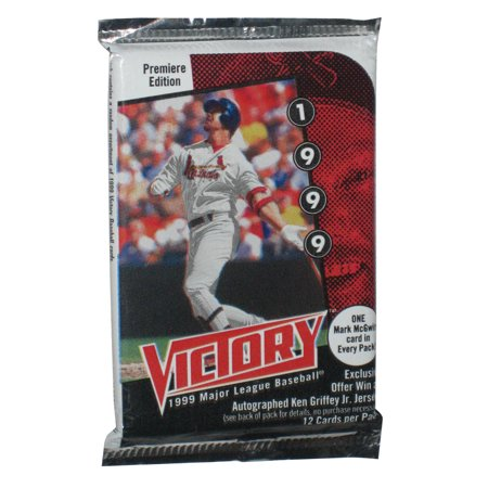 MLB Baseball 1999 Victory Upper Deck Premiere Edition Card Pack