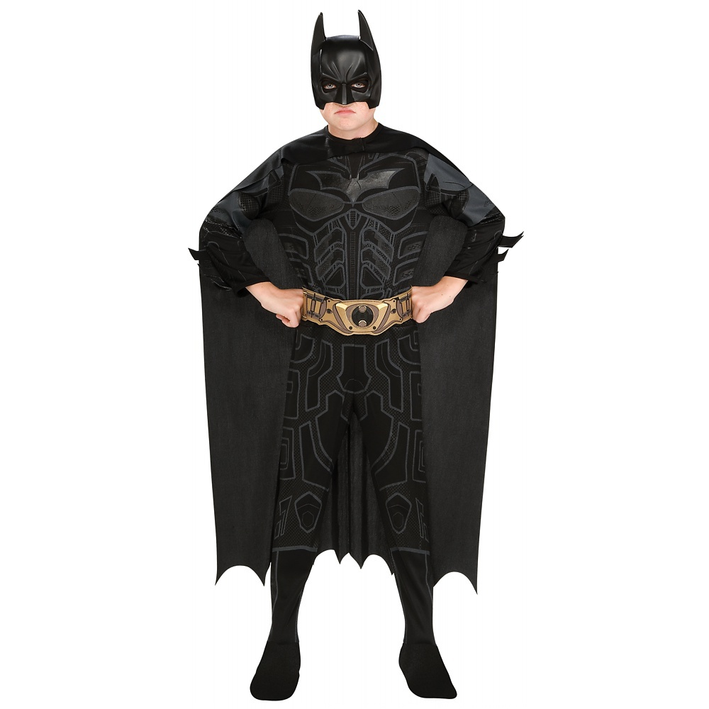 Batman Dark Knight Action Suit Child Costume Medium by Rubies