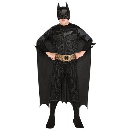 Batman Dark Knight Action Suit Child Costume - Medium (Best Batman Costume For Sale)