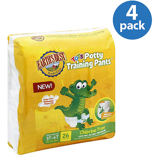 Earth's Best Tots Potty Training Pants (Pack of 4)