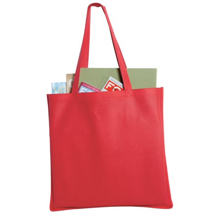 Port Authority® - Polypropylene Tote. B156 Red Osfa - image 1 of 1
