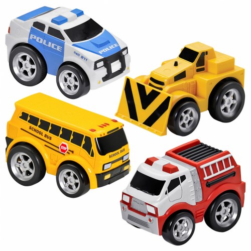 Kid Galaxy Pull-Back Vehicle Set by Kid Galaxy