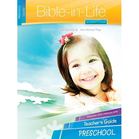 Bible-In-Life Winter 2018-2019: Preschool Teacher s Guide (#1010)](Preschool Winter Crafts)
