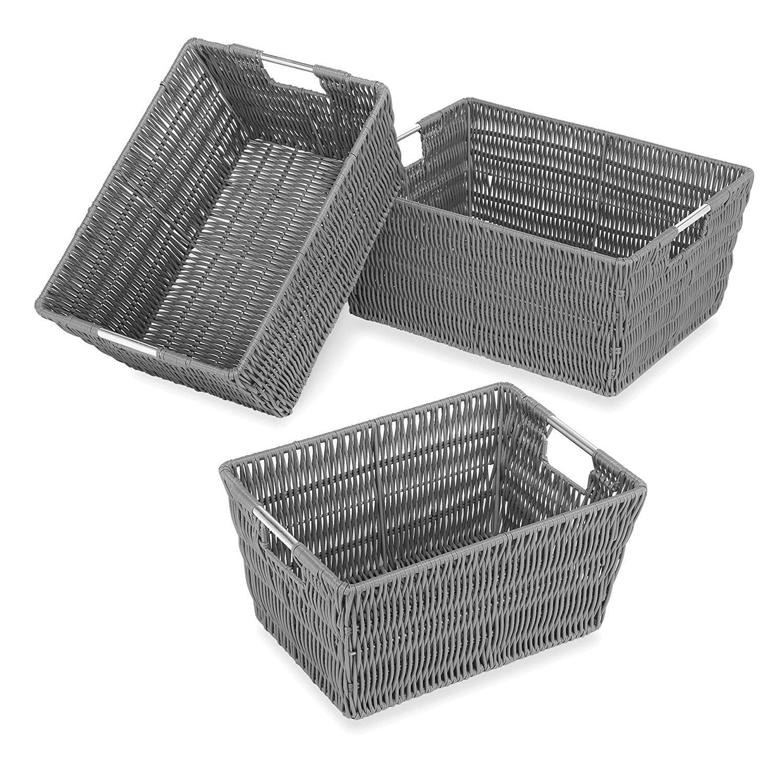 Rattique 3 Piece Basket Set