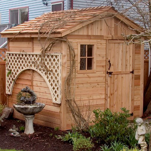 Outdoor Living Today G88 Gardener 8 x 8 ft. Storage Shed by Outdoor Living Today