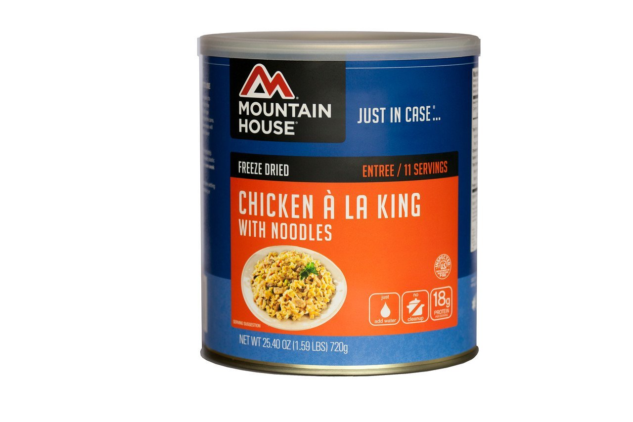 Chicken a la King with Noodles, Noodle Size MONTHS Potato King Sweet SUPPLY Ounce GlutenFree Pack Flavour 10 Stroganoff 12 Organic Dried... by