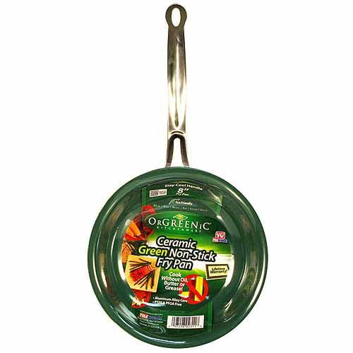 Orgreenic 8 Quot Fry Pan Green Walmart Com