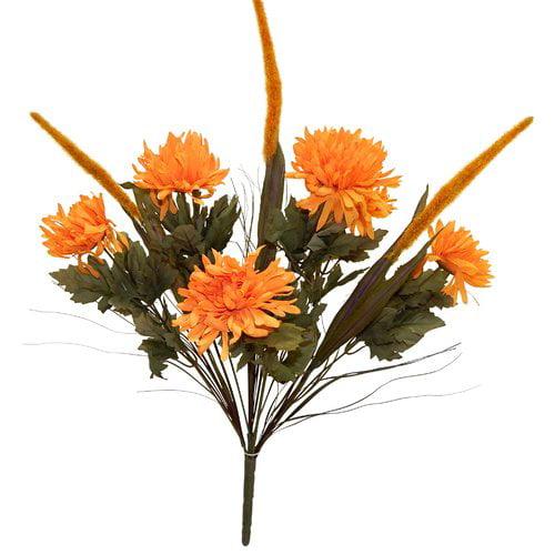 August Grove Mum/Cattail Mixed Bush