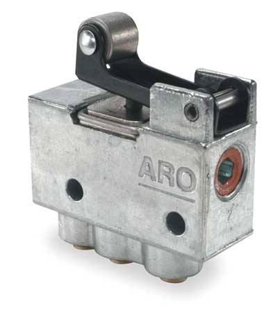 ARO 202-2-C Manual Air Control Valve, 3-Way, 5/32 in