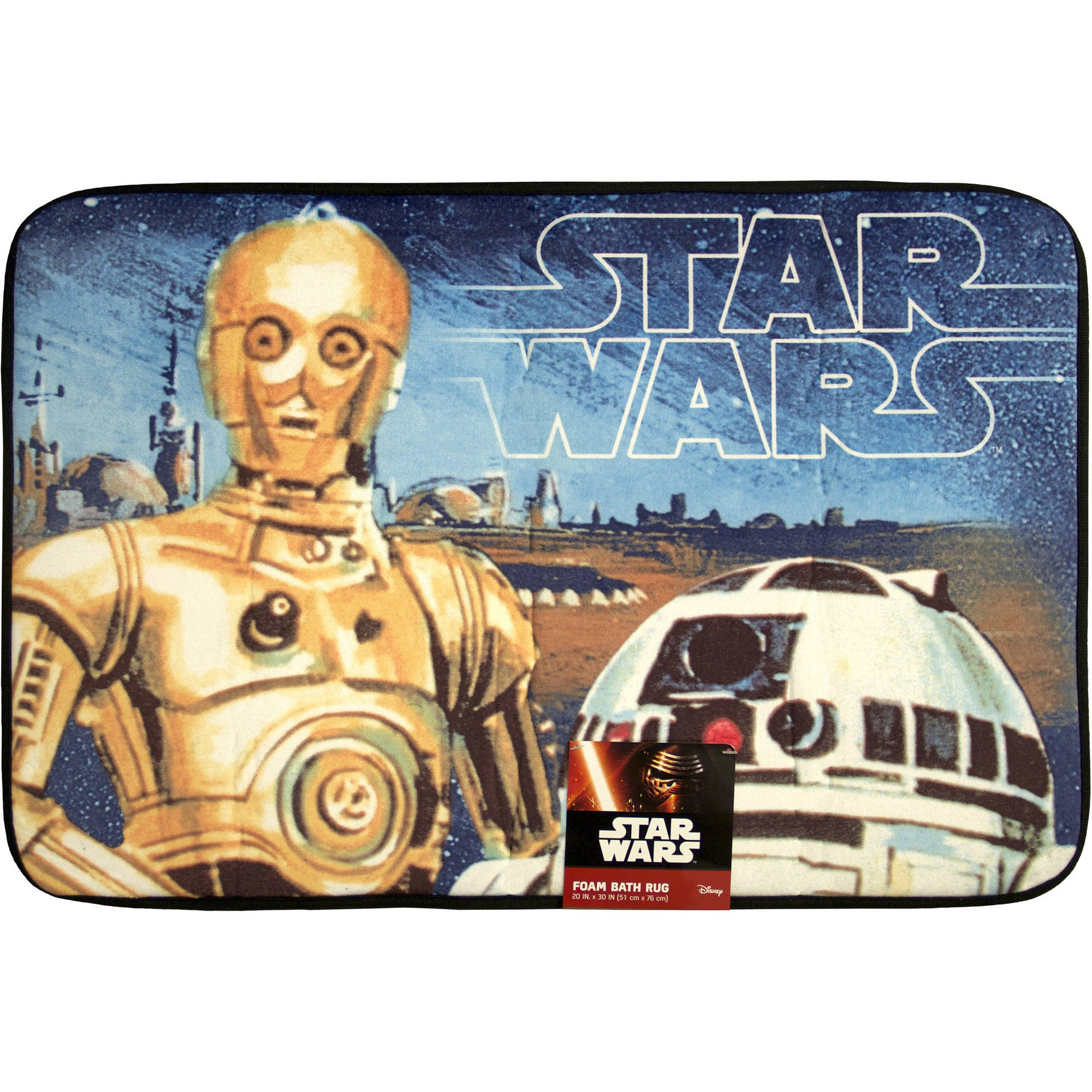 Star Wars Foam Bath Rug, 1 Each