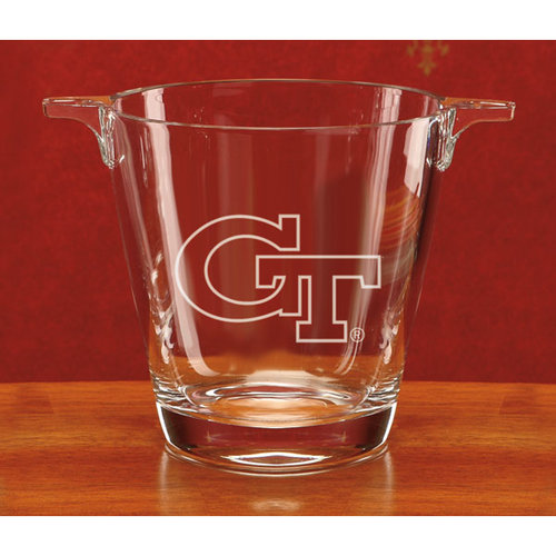 NCAA - Georgia Tech Yellow Jackets Deep Etched Crystal University Ice Tub