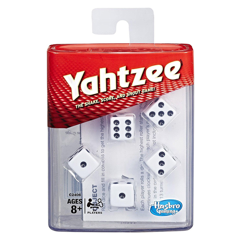 Yahtzee, Dice-rollin' battle game. By Hasbro by