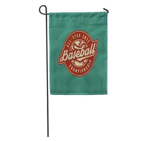 KDAGR College Baseball Club Vintage Sport Emblem Field Helmet Old Tournament Garden Flag Decorative Flag House Banner 12x18 inch