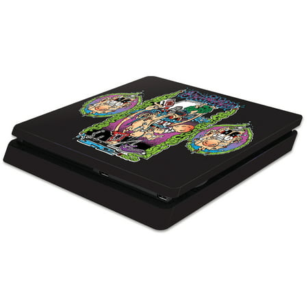 Skin Decal Wrap for Sony PS4 Slim Console Brainwashed