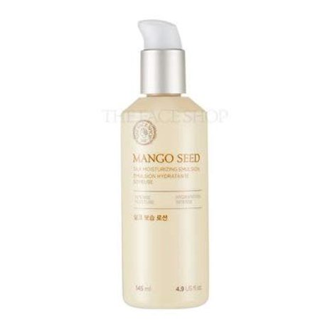 The Face Shop Mango Seed Silk Moisturizing Emulsion, 145