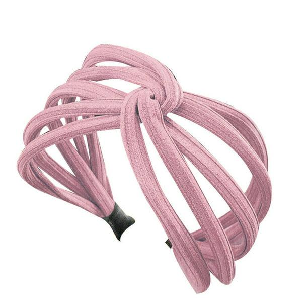 Korea Headband Twist Hairband Bow Knot Cross Tie Headwrap Hair Band Hoop Gifts