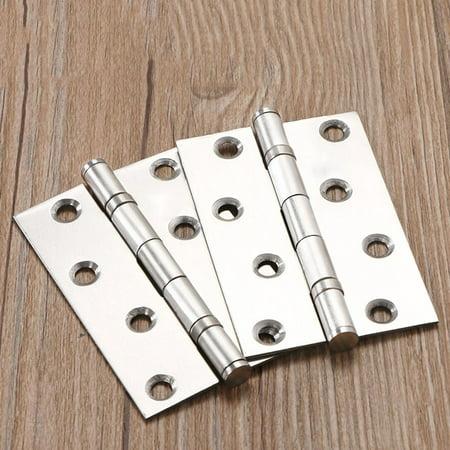 Door Butt Corner Hinge Stainless Steel Furniture Hardware Hinges Replacement for Cabinet Kitchen Folding Hinges - image 6 de 9