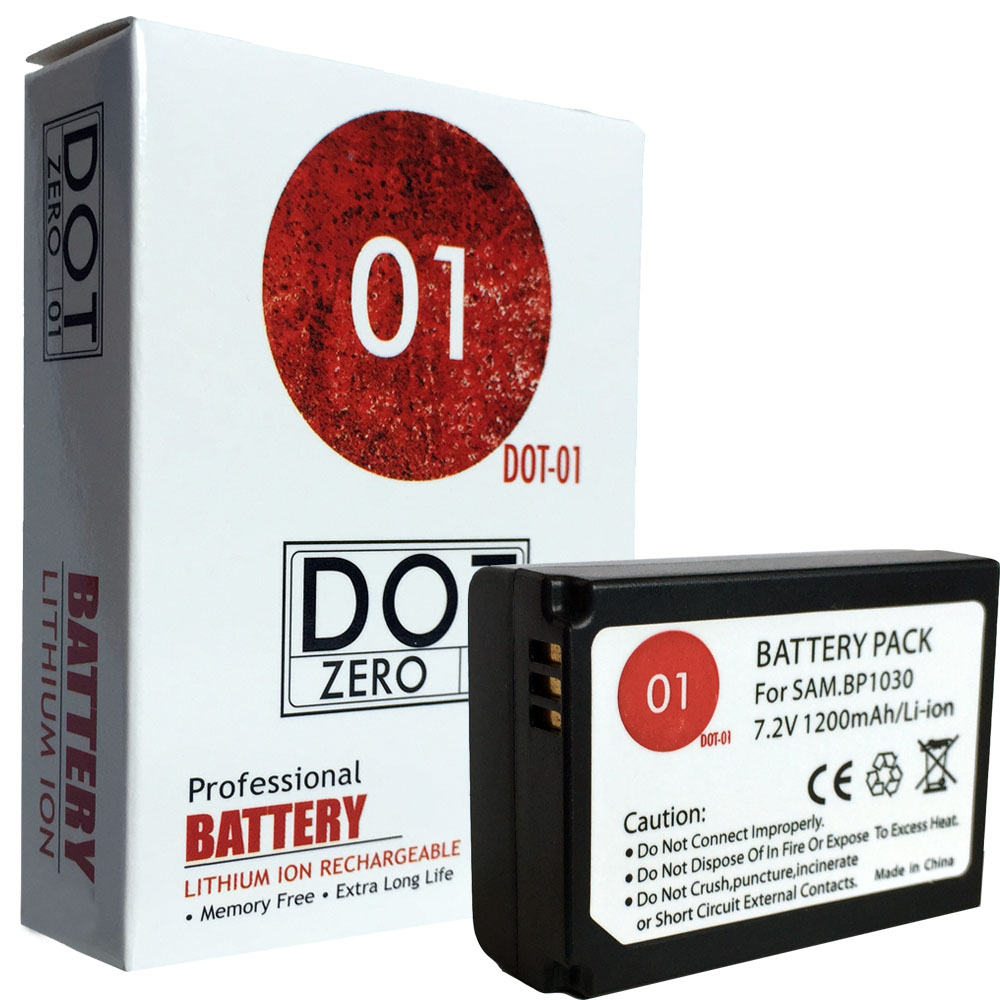 DOT-01 Brand 1200 mAh Replacement Samsung BP-1130 Battery for Samsung NX300 Digital Camera and Samsung BP1130